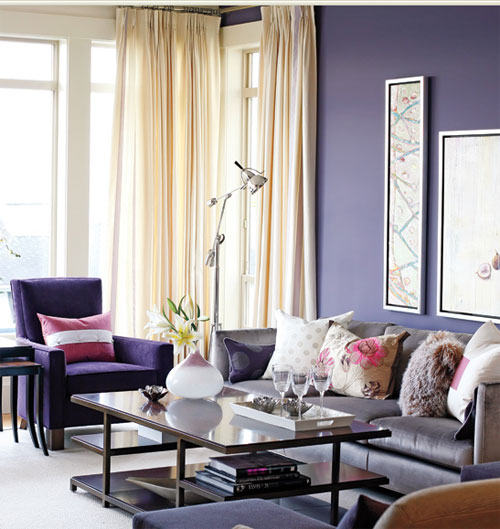 pet friendly home decor color therapy part 9 indigo purple ez living home. Black Bedroom Furniture Sets. Home Design Ideas